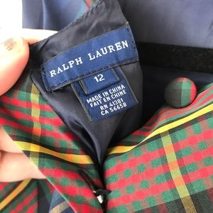 Ralph Lauren Dresses - Ralph Lauren Tartan Girls Holiday Dress